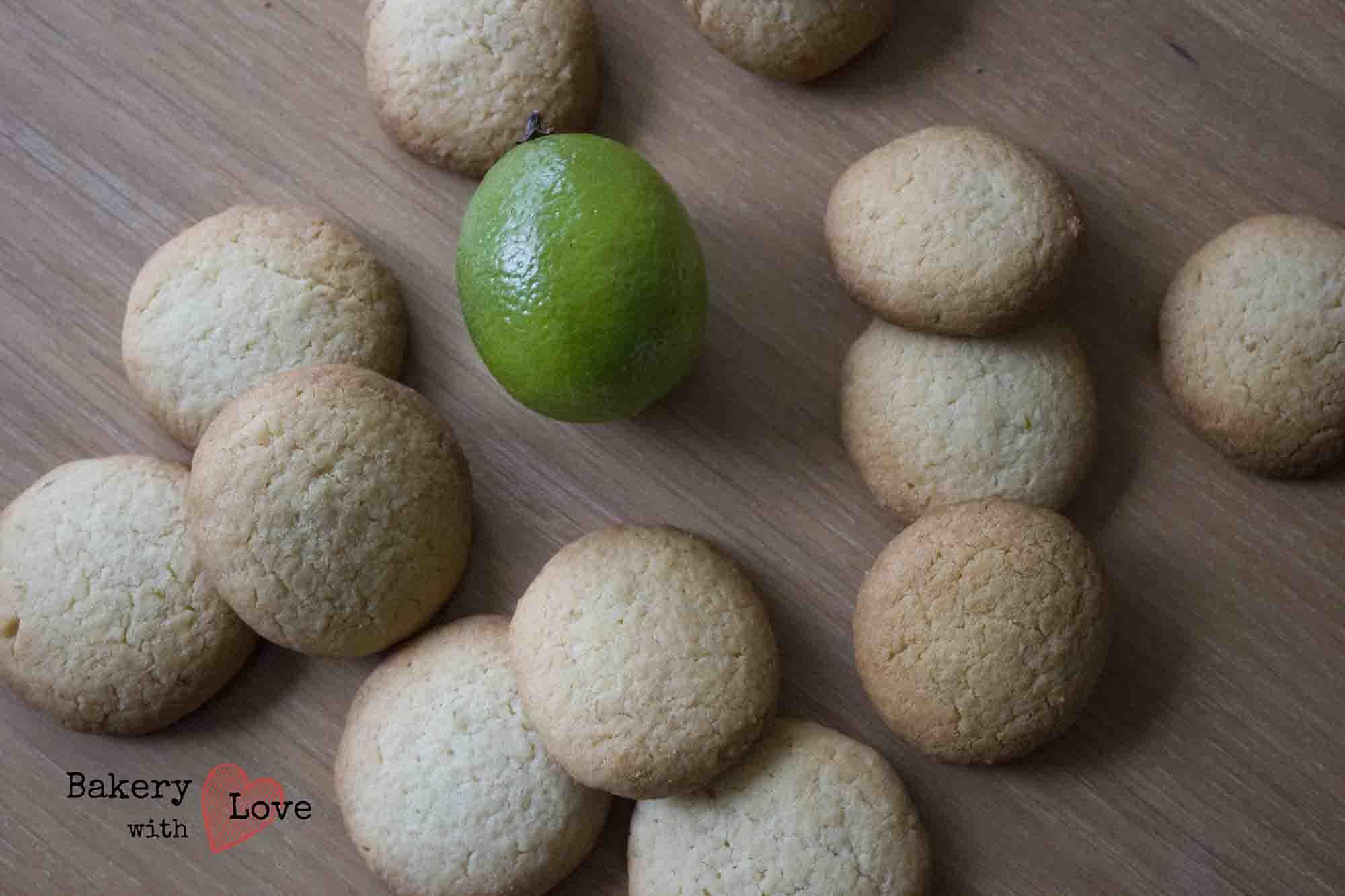 Limoen koekjes