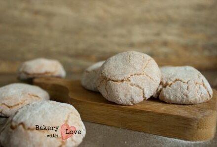 Zachte amandel koekjes