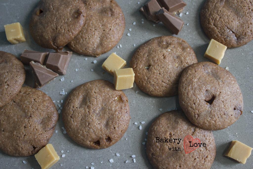 salted caramel koekjes