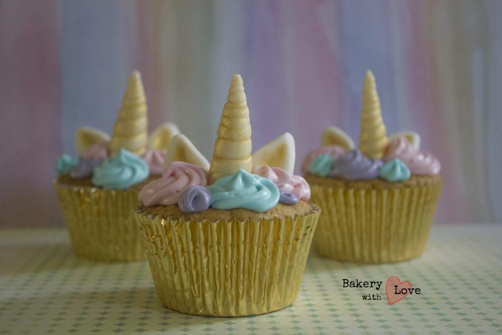 Eenhoorn cupcakes